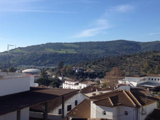 El Bosque, Spanje: Vistas desde la terraza, solamente expectacular