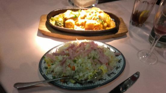 Fleur de lotus: Deux plats à venir découvrir...un délice!