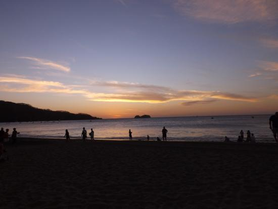 Playa Hermosa, Costa Rica: Amazing Sunset!
