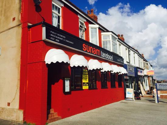 Bispham, UK : Edge of the restaurant