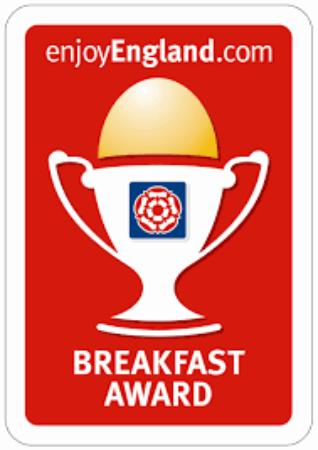 Crediton, UK: Breakfast Award