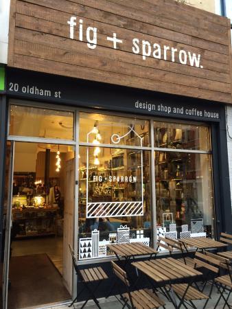Cafe exterior design images galleries for Shops exterior design