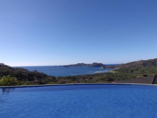Paquera, Κόστα Ρίκα: Infinity pool that looks out over Tortuga Island!
