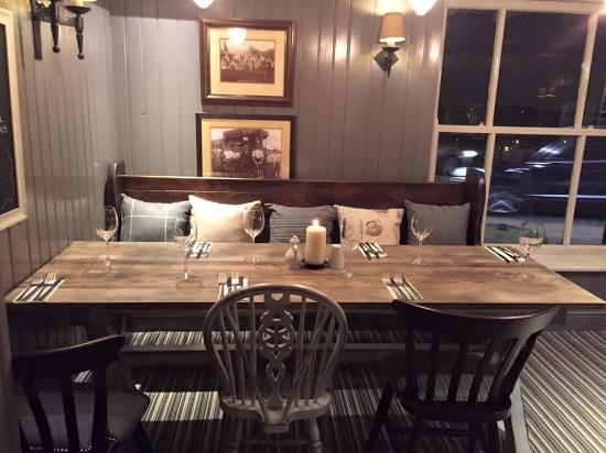 new restaurant tables picture of stanley gate bickerstaffe rh tripadvisor com