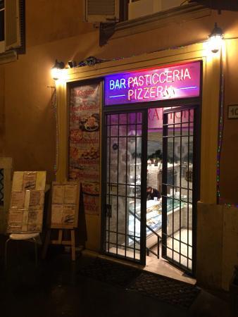 Il Grottino Di San Bernardo: Night View Winter Time
