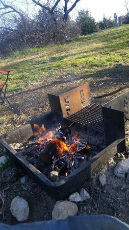 Tent camping Cedar Hill State Park Joe Pool Lake