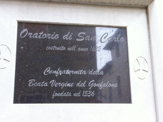Oratorio di San Carlo