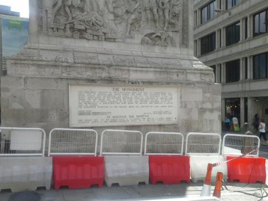The Monument to the Great Fire of London: 20150727_115135_large.jpg