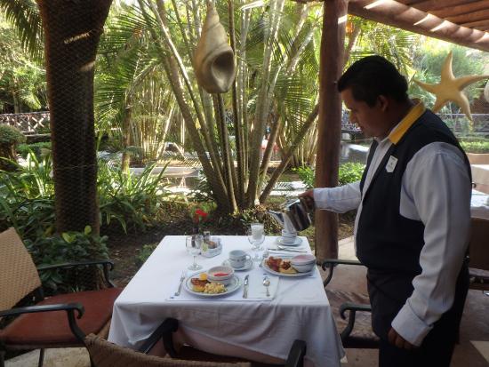 Breakfast at Iberostar, Cozumel