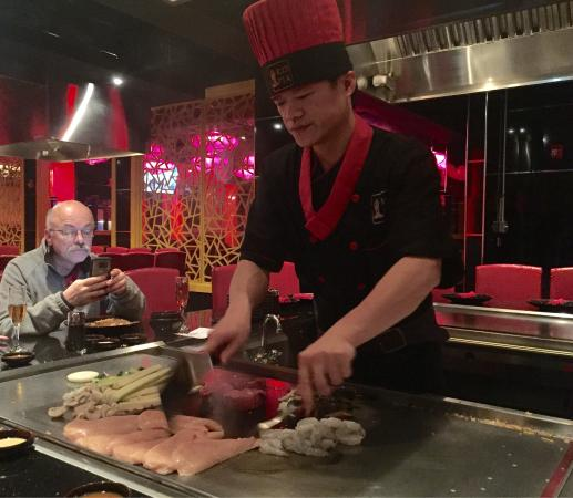 West Hartford, CT: Hibachi process