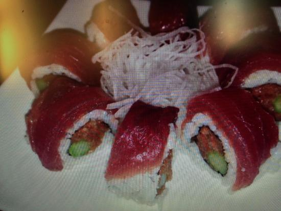 San Leandro, Kalifornien: Spicy tuna roll