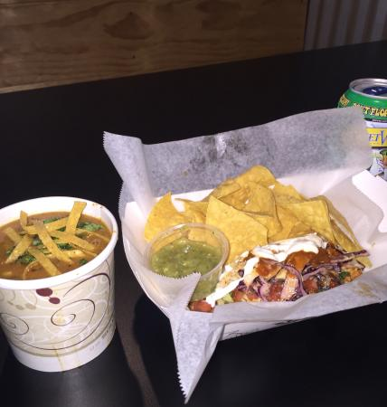 Hampstead, Carolina del Nord: SHAK'D Potato, California Burrito & SHAK'D Taco just a few of the favorites!