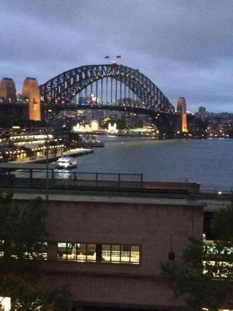 Cafe Sydney: View from our table