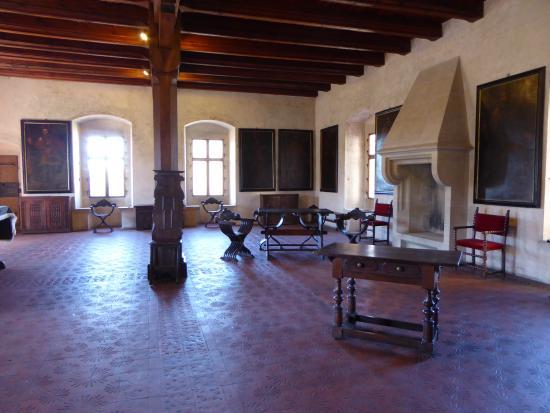 Karlstejn Castle: room in the castle