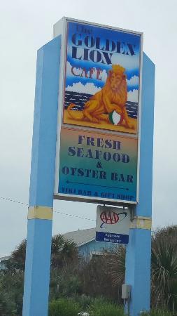 Flagler Beach, FL: The Golden Lion Cafe