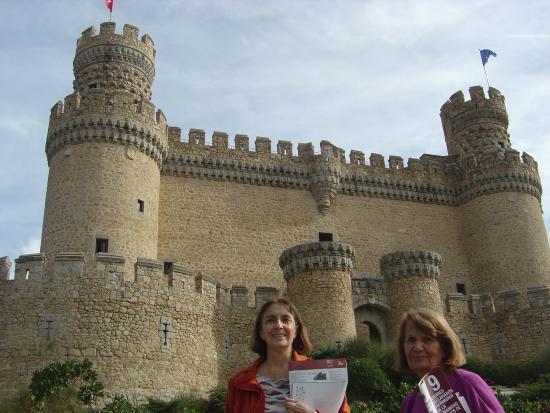 Castillo de los Mendoza (Castillo nuevo de Manzanares El Real): antes de entrar