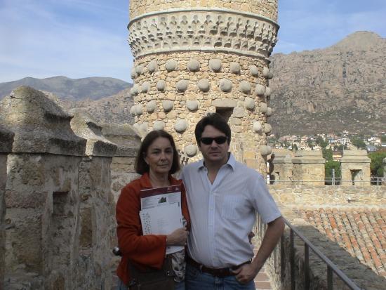 Manzanares el Real, Hiszpania: con mi hijo es la murrala