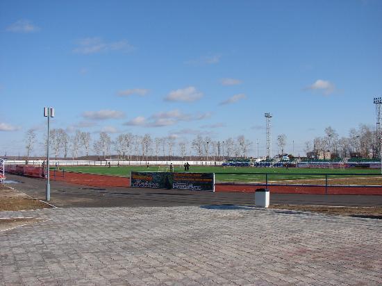 Belogorsk, Russia: Стадион