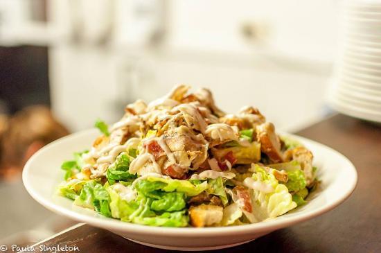 Bribie Island, Australië: Caeser salad