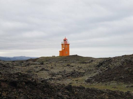 Grindavik, Island: the light house