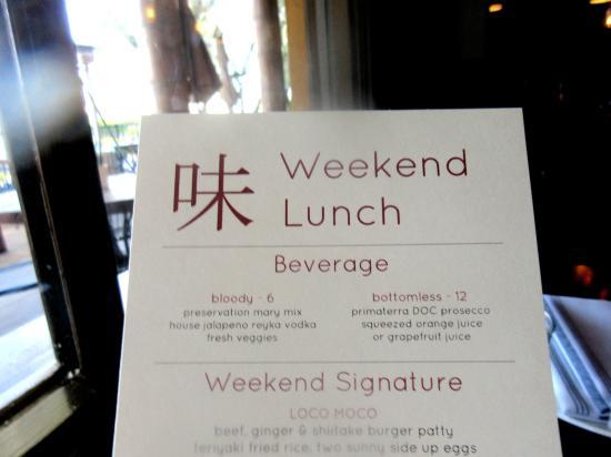 Weekend Lunch, Aji Japanese Bistro, El Dorado Hills, Ca