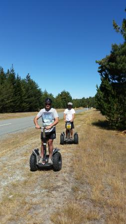 ‪‪Twizel‬, نيوزيلندا: The Segway Xtreme Twizel Outback Tour‬
