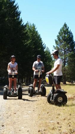 The Segway Xtreme Twizel Outback Tour