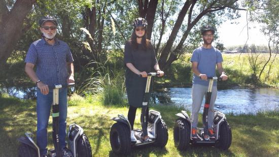 Twizel, نيوزيلندا: The Segway Xtreme Twizel River Tour