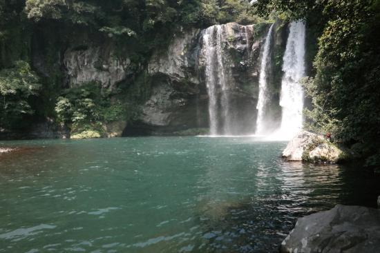 Cheonjiyeon Falls Photo
