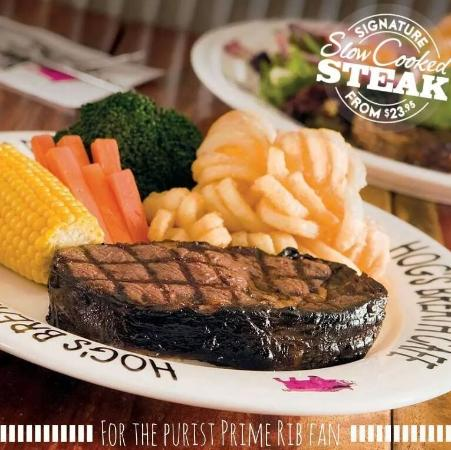 Wantirna, Australia: signature steak