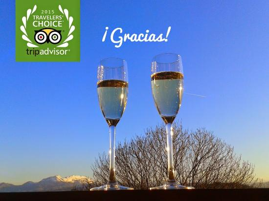 Hotel El Mirador de Ordiales: premio Travellers' Choice™ 2015 mejor relación calidad/precio de España