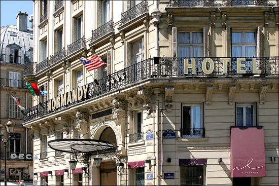 Normandy Hotel: façade