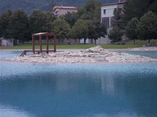 Le Vallon des Sources : Le lac