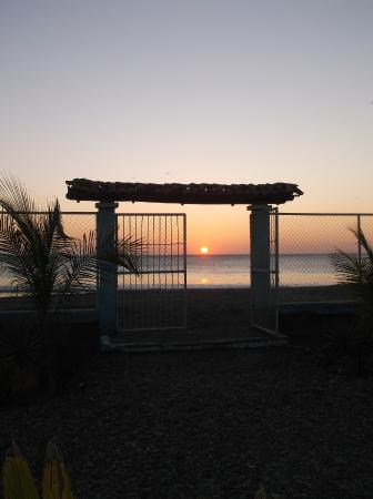El Astillero, Nicaragua: Sunset from our room 12