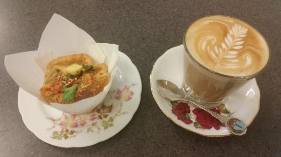 Kyogle, Australia: Muffin & coffee