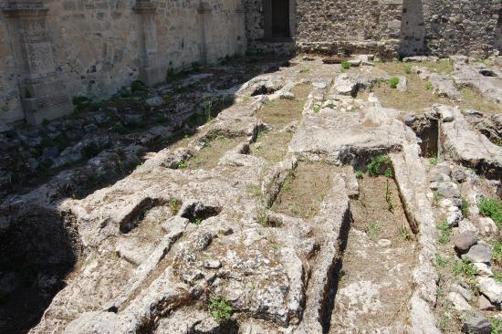Militello in Val di Catania, Italie : Necropoli cristiana.