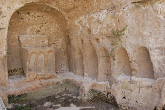 Militello in Val di Catania, Italie : Cripta dello Spirito Santo.