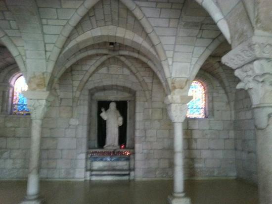North Miami Beach, FL: Inside church, window