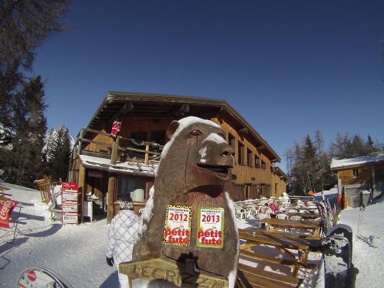 Villarodin-Bourget, Fransa: janvier 2016, la pause au grizzli !