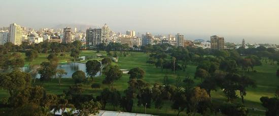 Hotel Libertador Lima: Vista Golf