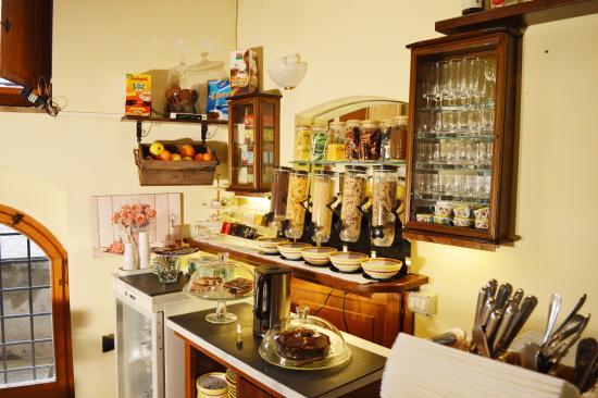 Hotel Restaurant Pallotta Assisi: Colazione