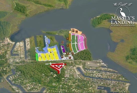 Millsboro, Делавер: The Resort at Massey's Landing