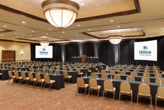 Hilton Phoenix Chandler: Host a large event or wedding in our ballroom