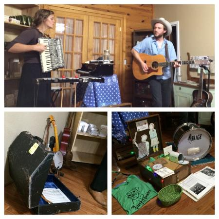 Higginsville, MO: Live music on Saturday evenings and Sunday afternoons April-October