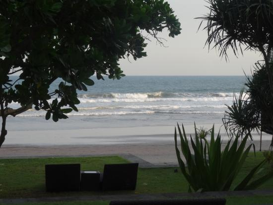blick zum strand vom pool picture of kelapa retreat and spa rh tripadvisor com