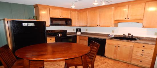 Hi Country Haus Condominiums: Kitchen