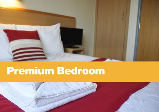 Penryn, UK: Premium bedroom
