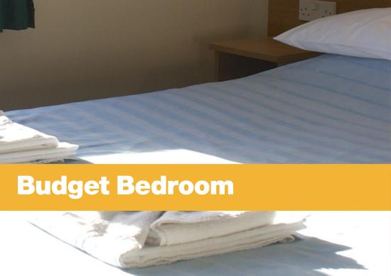 Penryn, UK: Budget bedroom