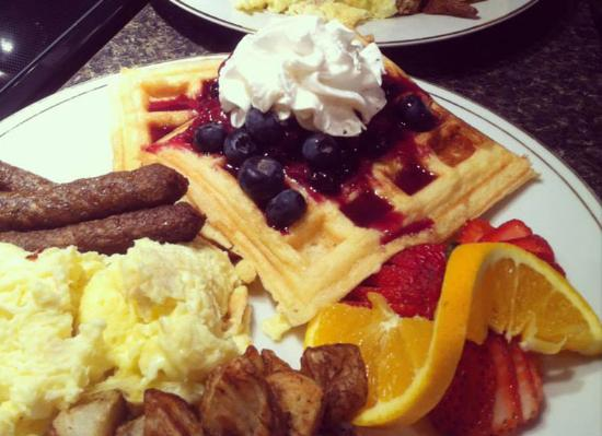 French Camp, MS: A delicious plate breakfast