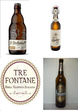 San Baronto, Italien: Birre Italiane ed Europee Artigianali.